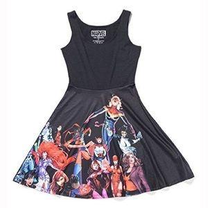 Women of Marvel Superhero Skater Dress
